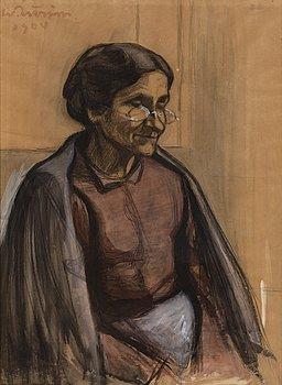 WERNER ÅSTRÖM, akvarell och gouache, signerad och daterad 1904.