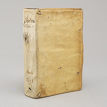 BOOK, The Works of Statius, 1595.