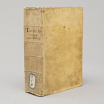 BOOK, Tacitus, with commentaries, three imprints 1541-42.