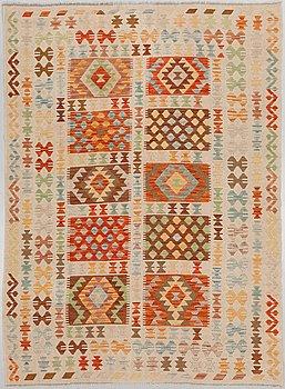 A kelim rug, 240 x 172 cm.