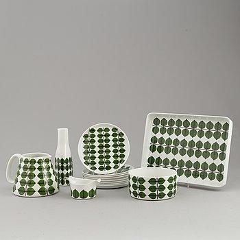 13 pcs 'Berså' porcelain service by Stig Lindberg, Gustavsberg.