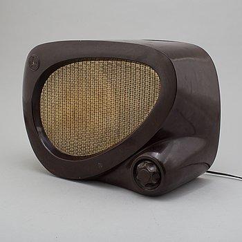 """TESLA, högtalare """"ARS 217/The ear"""", Tjeckoslovakien, 1950-tal."""