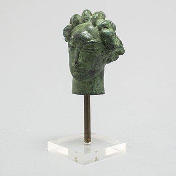 CARL MILLES, efter, skulptur i patinerad brons märkt Millesgården.