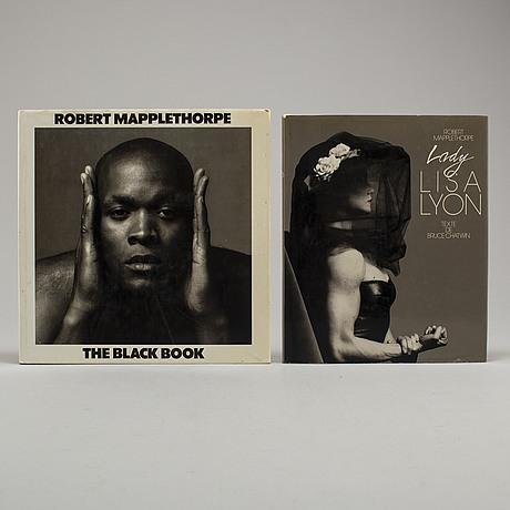 Photobooks, two (2) robert mapplethorpe