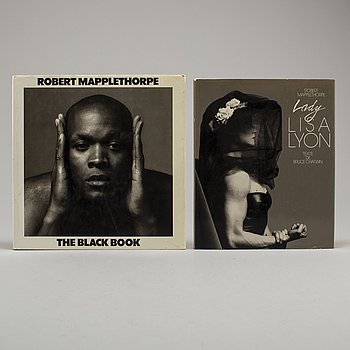 PHOTOBOOKS, Two (2) Robert Mapplethorpe.