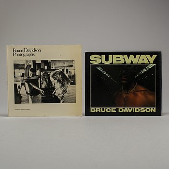 PHOTOBOOKS, Two (2) Bruce Davidson with dedication.