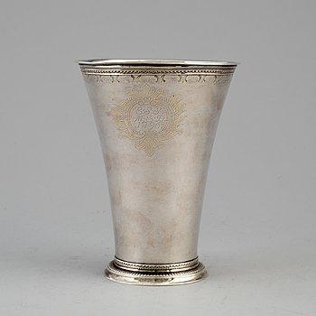 ANDERS SCHOTTE, bägare, silver, Uddevalla 1797,