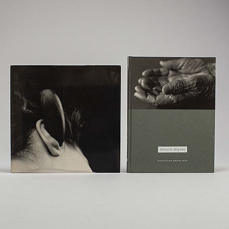 Photobooks, two (2) mario cravo neto and ishiuchi miyako with dedications