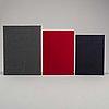 Photobooks, three (3) ola billgren, jan svenungsson, christian boltanski, dawid