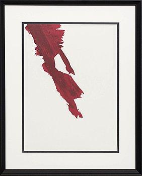 JEAN BAZAINE, färglitografi, ur Derrière le Miroir nr 215 1975.