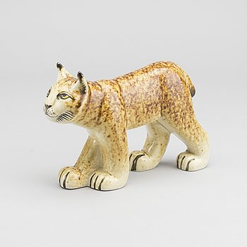 LISA LARSON, figurin, stengods, Gustavsberg.