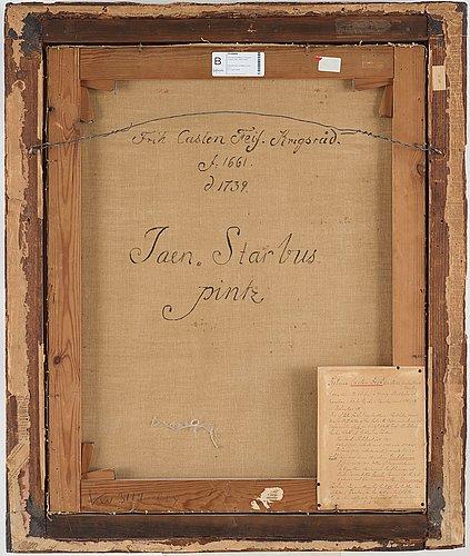 Lucas von breda dÄ, tillskriven. uppfodrad duk 79,5 x 64 cm. samtida ram