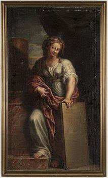 ITALIENSK SKOLA, 1700-tal, olja på duk.