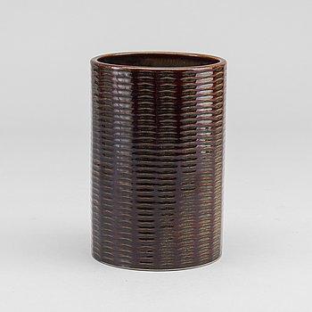 """STIG LINDBERG, vas, stengods. Gustavsberg, """"Domino"""", 1950-/60-tal."""