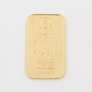 GULDTACKA i 24K guld,