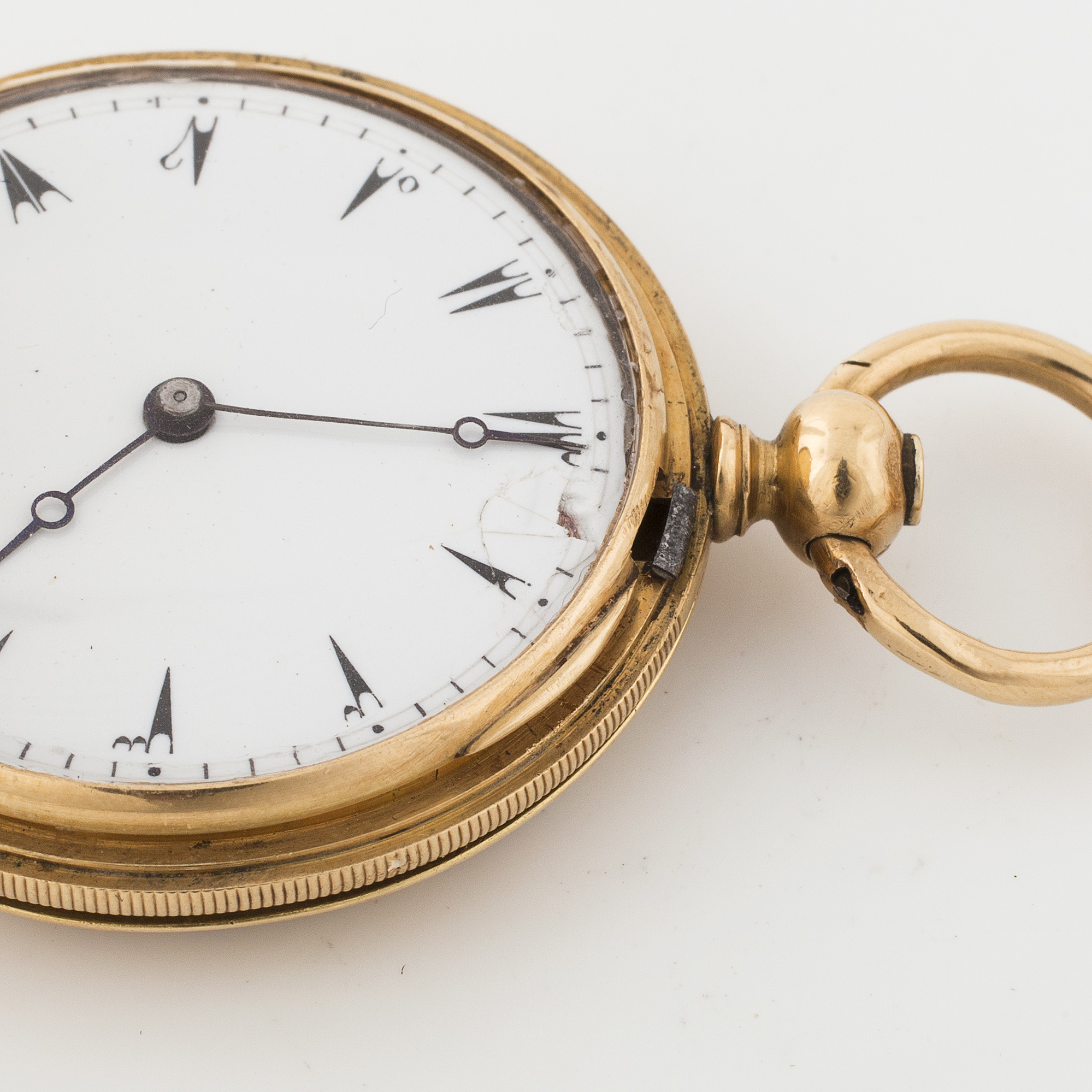 DUMONT GUINAND, CHAUX-DE-FONDS, hunting cased pocket watch
