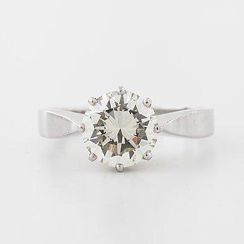 An old cut diamond ring by  Ceson, Göteborg, 1974.