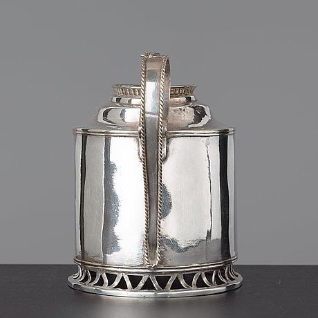 Tekanna, sengustaviansk, 1700-talets slut.