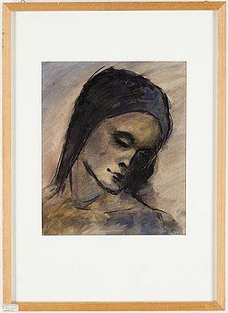 PETER WEISS, akvarell på papper, signerad, utförd ca 1934.
