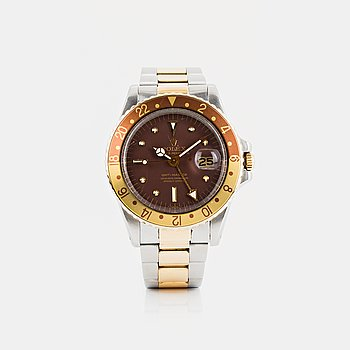 """2. ROLEX, GMT-Master, """"Root beer"""", """"Nipple Dial""""."""