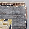 "Märta måås-fjetterström, a carpet, ""blåringen"", knotted pile, ca 251 x 150-157 cm, signed ab mmf."
