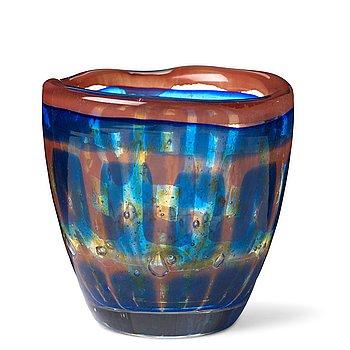 """12. Sven Palmqvist, a """"Ravenna"""" glass vase, nr 43, Orrefors, Sweden 1951."""