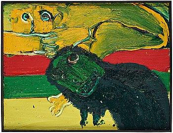 """619A. Bengt Lindström, """"The watchdog"""" (Vakthunden)."""