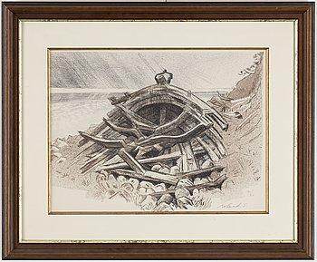 ROLAND SVENSSON, litografi signerad och numrerad 12/310.
