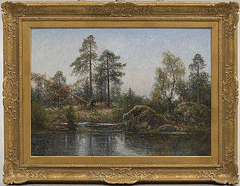 SEVERIN NILSON, olja på duk, signerad Severin Nilson.