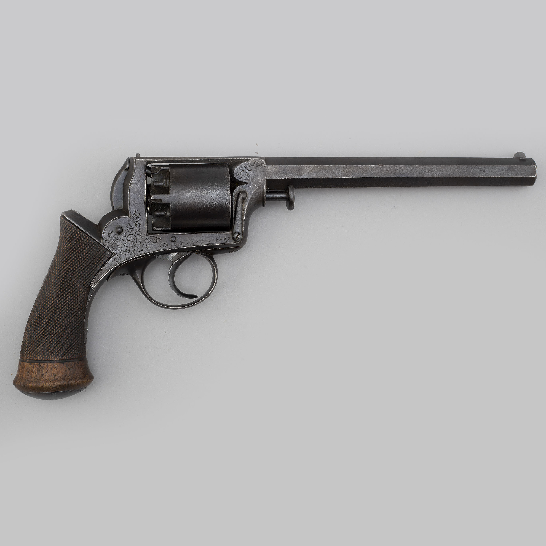 An 1850's Adams percussion revolver caliber 11,5 mm  - Bukowskis