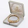 Bracelet 18k gold, 22,5 g