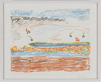 RUNE JANSSON, Lithographs in colour, 3, signed.