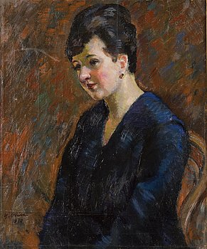 YRJÖ OLLILA, oil on canvas, signed and dated 1919.