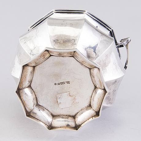 Sokerikko, hopeaa, nichols & plinke, pietari 1860, venäjä.