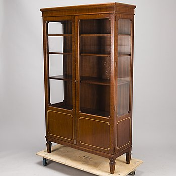 A mid 20th century display cabinet for Paul Boman.