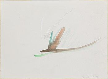 RUNE JANSSON, akvarell, signerad och daterad -85.