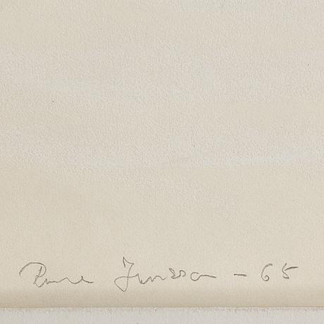 Rune jansson, blandteknik, signerad och daterad  68