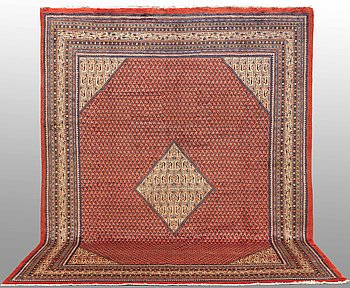 A CARPET, Sarouk - Mir, around 365 x 275 cm.