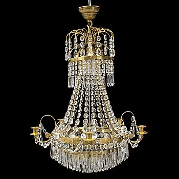 A secon half of the 20th century chandelier.