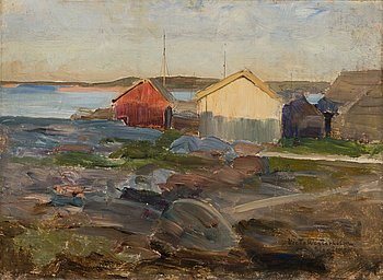 189. Victor Westerholm, LANDSCAPE FROM ÅLAND.