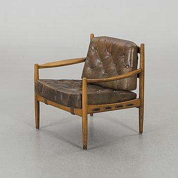 """INGEMAR THILLMARK, fåtölj """"Läckö"""", OPE-möbler, 1900-talets andra hälft."""