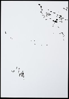 KATHARINA HINSBERG, Signed K. Hinsberg and dated 31.8.2000 RT 60 Quenado - Socorro. Perforated paper.
