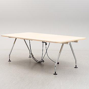 An 'Ad Hoc' desk by Antonio Citterio, Vitra.