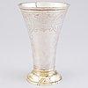 A beaker, silver, stephan westerstråle, stockholm 1794