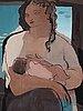 Jean souverbie, mother and child (maternité).