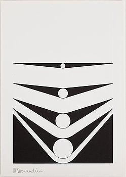 MARCELLO MORANDINI, serigrafi, signerat, 1966.