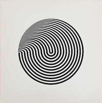 MARINA APOLLONIO, serigrafi, signerat och numrerat 45/230, 1966.