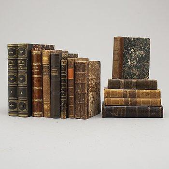 BÖCKER, 13 st, 1800-tal.