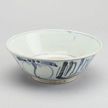 SKÅL, keramik, Sydostasien 1800-tal.
