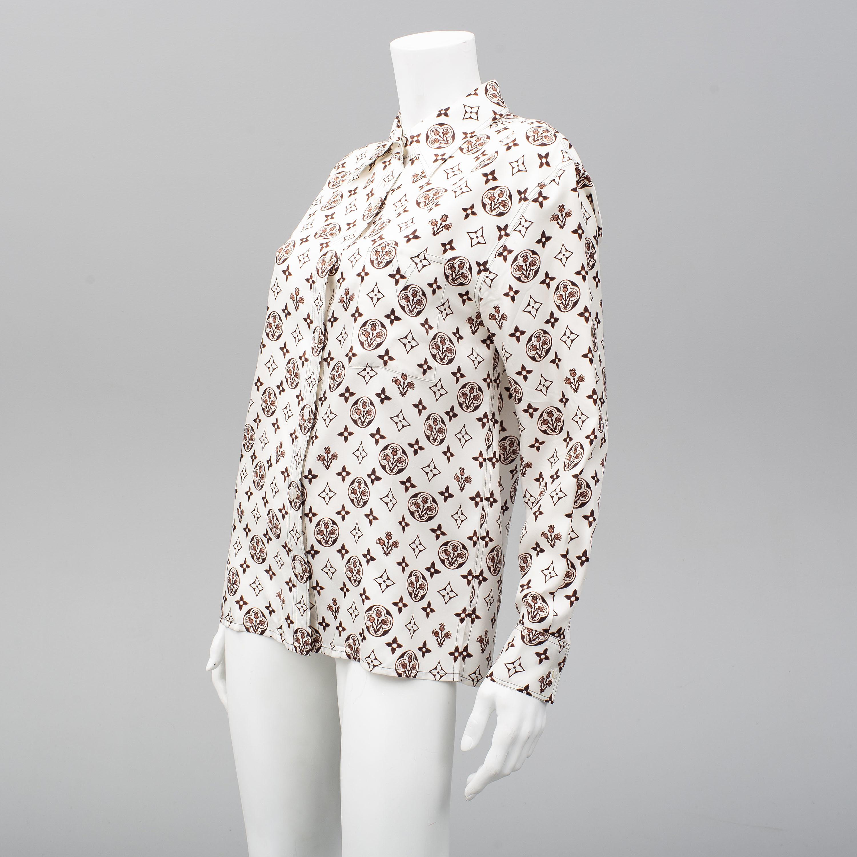 LOUIS VUITTON, blouse, french size 38  - Bukowskis
